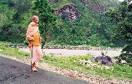 Swamiji at Uttarkasi