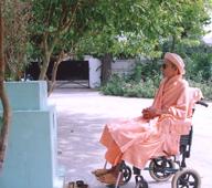 Swamiji At Shanti Niwas